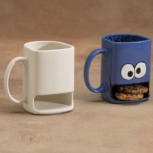 Never miss a dunk with these mugs!