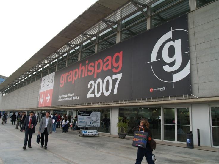 Salón Graphispag Año 2007
