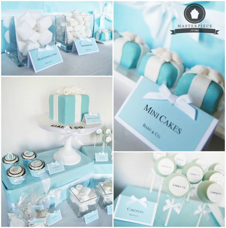 Exceptional Baby Shower Tiffany U0026 Co. Inspired Sweet Table