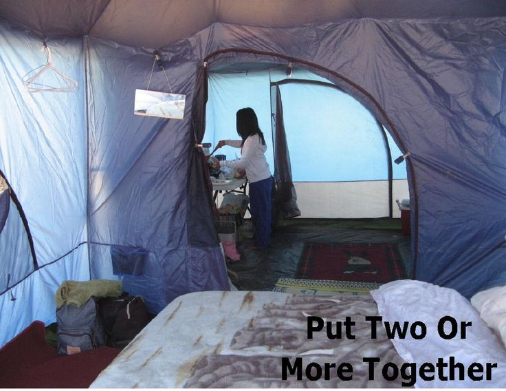 Put two or more Standing room Tents together for the ultimate in c&ing. See them : standing room 100 hanging tent - memphite.com
