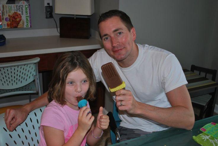 "CLEAN FREAK: Chocolate Banana ""Pudding Pops"""