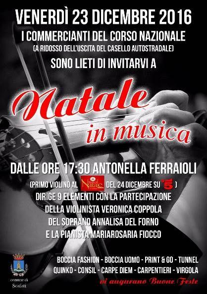 SCAFATI, NATALE IN MUSICA | MezzoStampa - l'informazione di Scafati e dintorni
