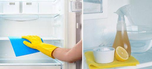 Descubra como é fácil limpar a geladeira por dentro e por fora, tirando todas a manchas e odores. Como Limpar Geladeira e Tirar o Mau Cheiro Fácil