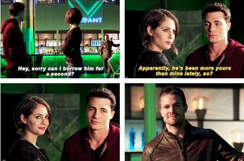 Roy, Thea & Oliver #Arrow #Canaries, These three must become an official family