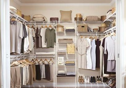 Wire Closet Organizers Do It Yourself Woodworking