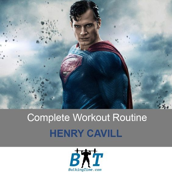 Henry Cavill had to go through some intense workouts in order to become the Man of Steel. This Superman Workout Routine can help you see similiar results
