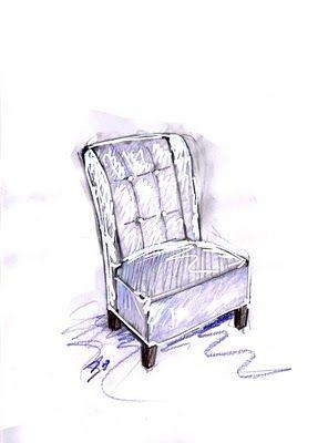 Vent'anni di disegni dell'Arch. Antonio Saporito: febbraio 2011 - poltrona