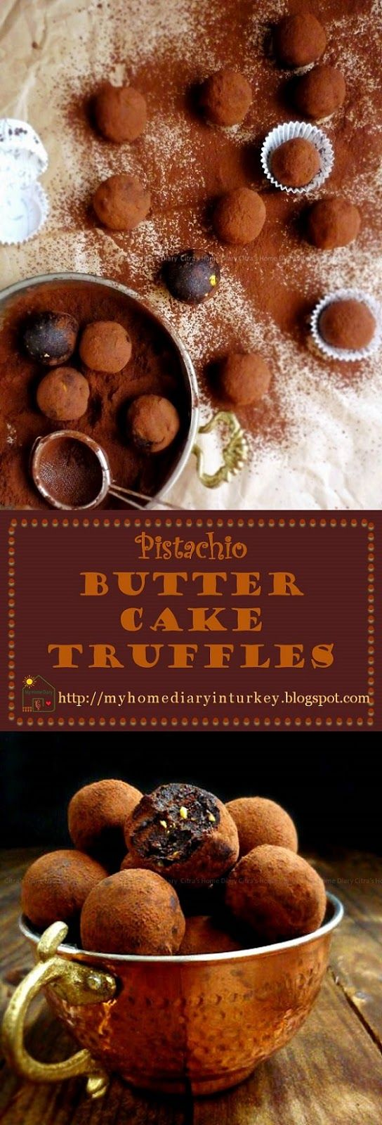 Pistachio Butter Cake Truffles. Fast, easy and no long list of ingredients. Another thing is I made this from my left over butter cake I previously baked, just add pistachio for level up your taste. #dessert #truffles #buttercake #chocolaterecipe #resepcokelat #cocoa #pistachio
