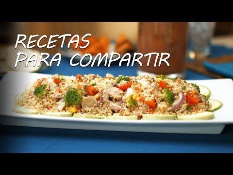 Comida para el verano: ensalada de quinoa con pollo - Recetas para Compartir l Discovery Channel - YouTube