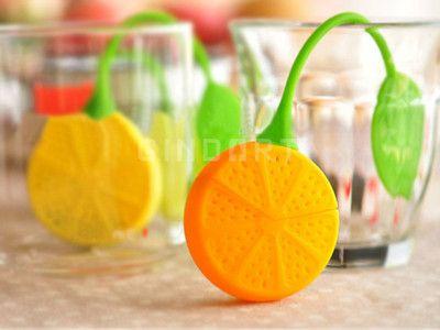 Safe Silicone Lemon Design Tea Herb Filter Infuser Strainer Teabag Steeping | eBay