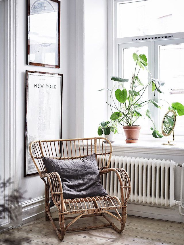 Why, hello there! I thought I'd stop by to share this lovely Swedish apartment in Gothenburg with you. The space has been made extra specia...