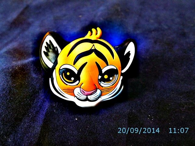 Uchwyt meblowy Gumowany Dziecięcy Tygrysek