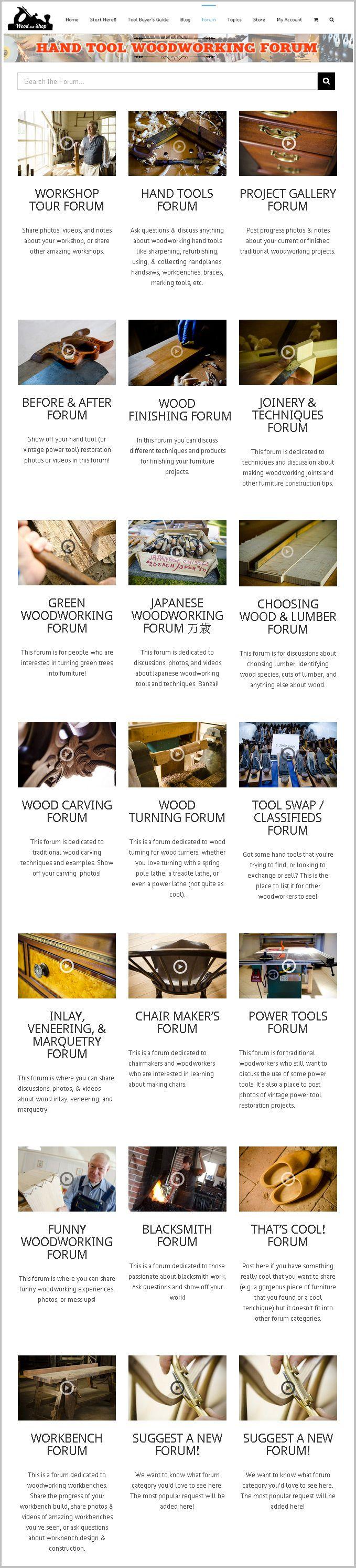 World's First Hand Tool Woodworking Forum! (WoodAndShop.com/Forum)