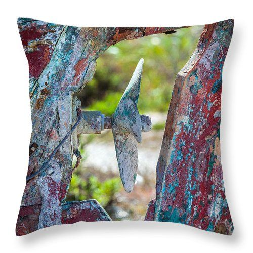 Boat Throw Pillow featuring the photograph One Time Beauty by Eleni Mac Synodinos