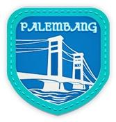 Palembang:  The Land of Sriwijaya.  Welcome to the land of SriwijayaDetail Badge
