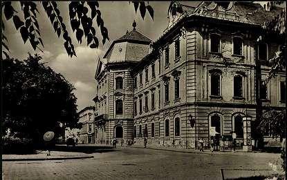 1957. Eger; Pedagógiai Főiskola - Líceum   Képcsarnok   Hungaricana