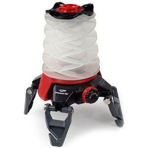 The Princeton Tec Helix Backcountry Lantern, Black/Red, 3 AAA