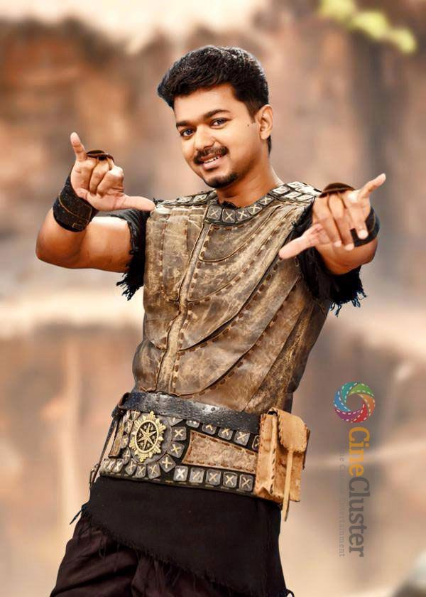 Download the Puli tamil movie latest High Quality wallpaper stills. Puli movie starring Vijay, Shruti Haasan, Hansika Motwani.