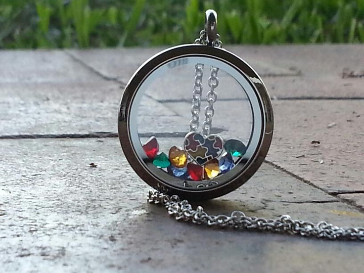 This is awesome!! Its an autism awareness locket!! http://www.southhilldesigns.com/StephanieSchaub