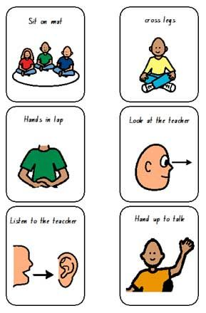I like this because we need to use cues with children for their understanding. I believe this is good for children with additional needs.