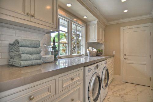 grey laundry rooms