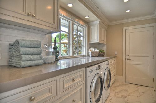 grey laundry rooms