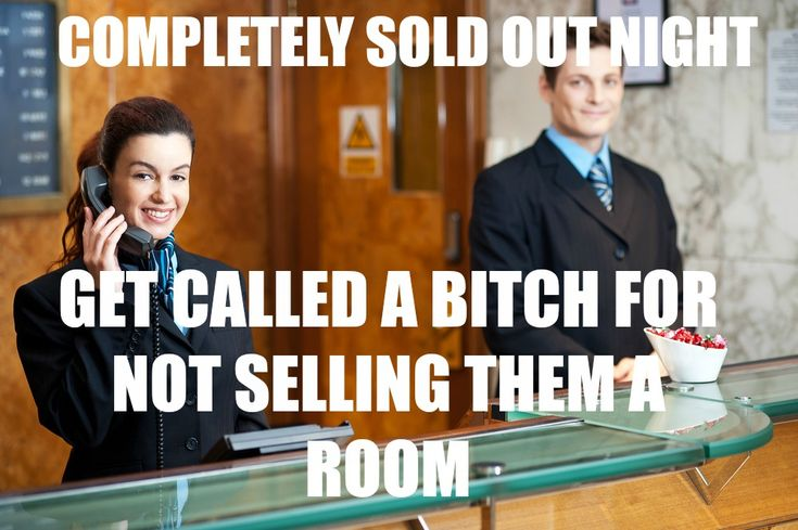Tales of a hotel front desk worker.