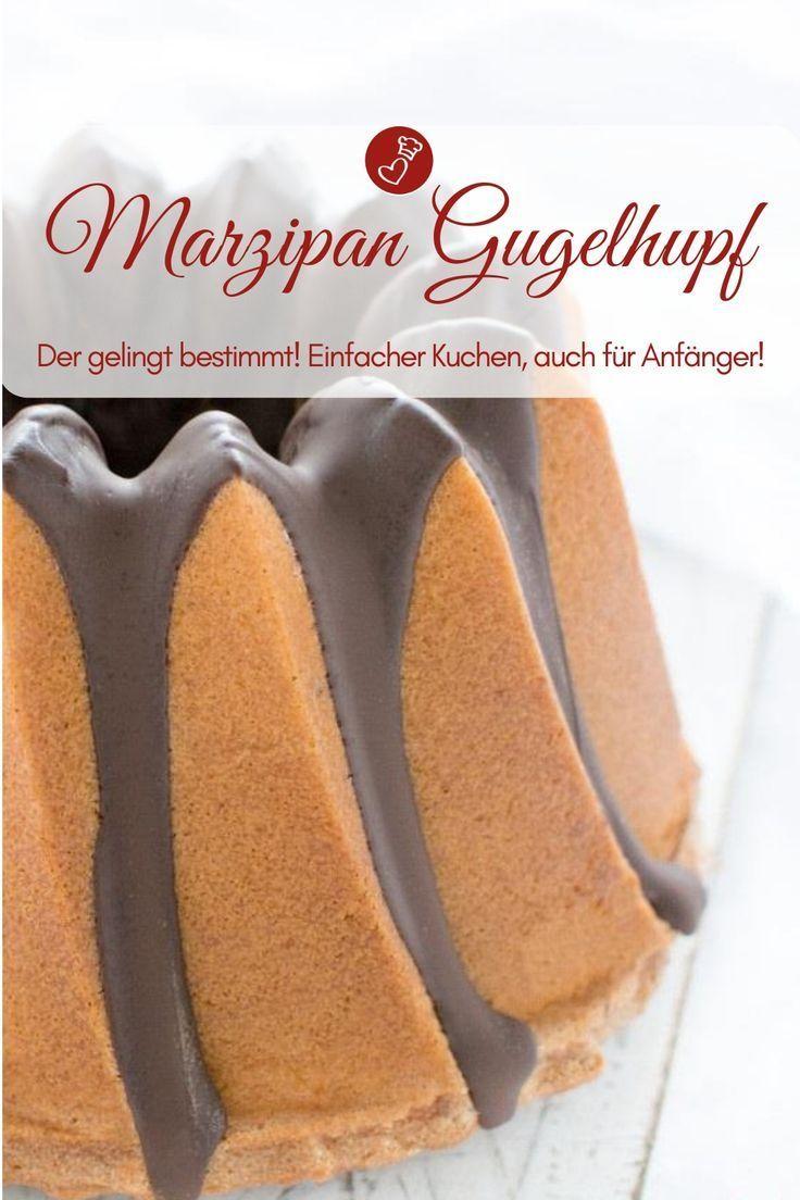 Marzipan Gugelhupf Marzipan Puffer Rezept Backen Rezepte Fur