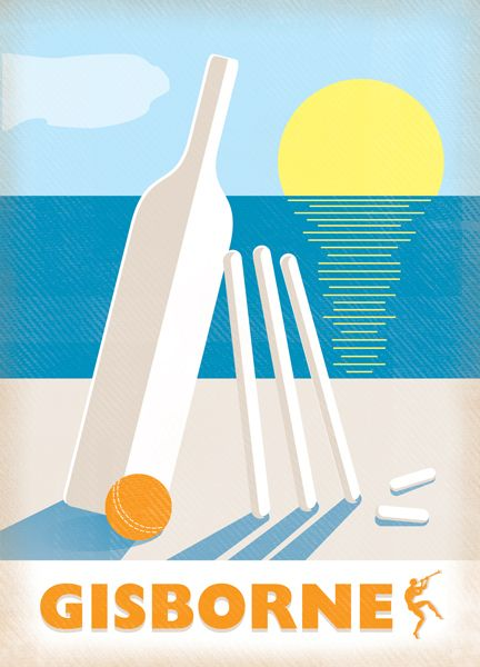 Thornbury Wines - quintessential Gisborne - cricket on the beach.
