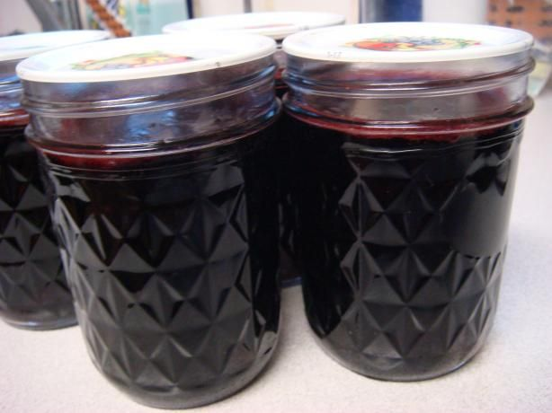 Port Wine Jelly from Food.com:  I made this twice and it turned out yummy. The first one I used was Winking Owl Shiraz.  The second was Redtree Pinot Noir.