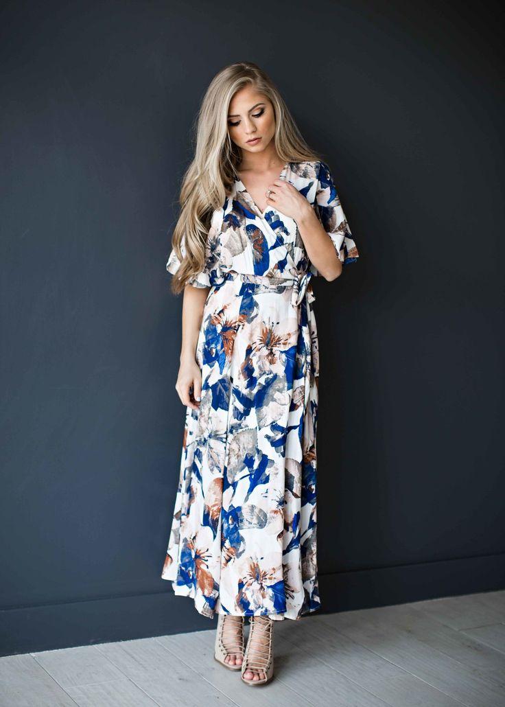 maxi dress, floral, floral maxii dress, easter dress, easter, fashion, style, women's fashion, ootd, blonde, blonde hair, jessakae