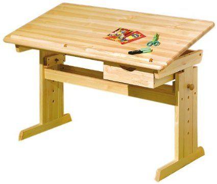 Links 30600020 Kinderschreibtisch Schülerschreibtisch Schreibtisch Kind natur verstellbar NEU