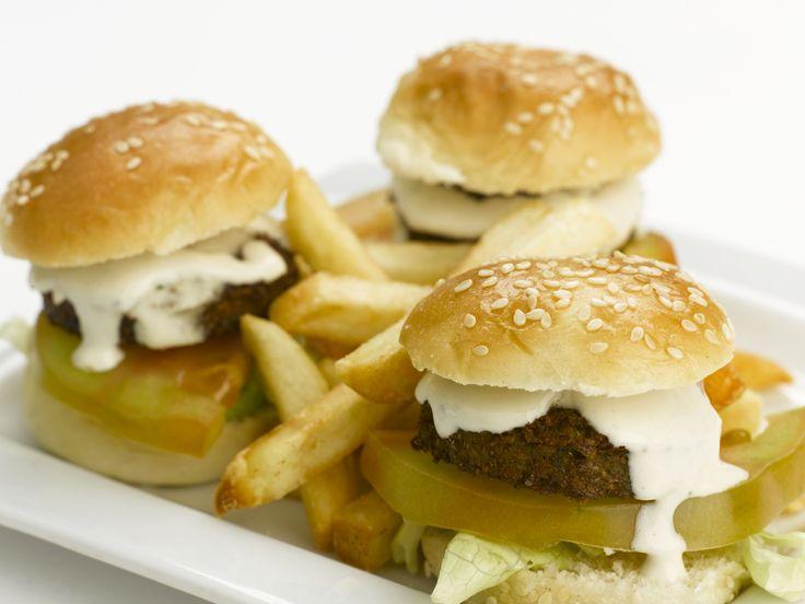 Mini Burgers Falafel #Comida #Valenica