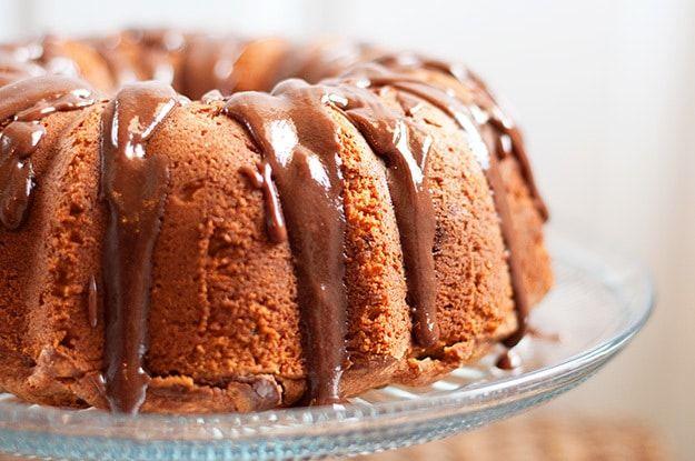 Banana, Peanut butter & Nutella pound cake