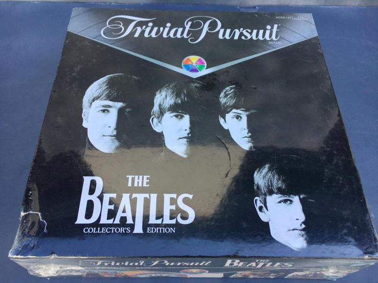 The Beatles Trivial Pursuit Game COLLECTOR'S EDITION  New, Factory Sealed ~COLLE #Hasbro