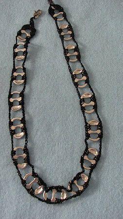 Pop Tab jewelry***free pattern Donna's Crochet Designs