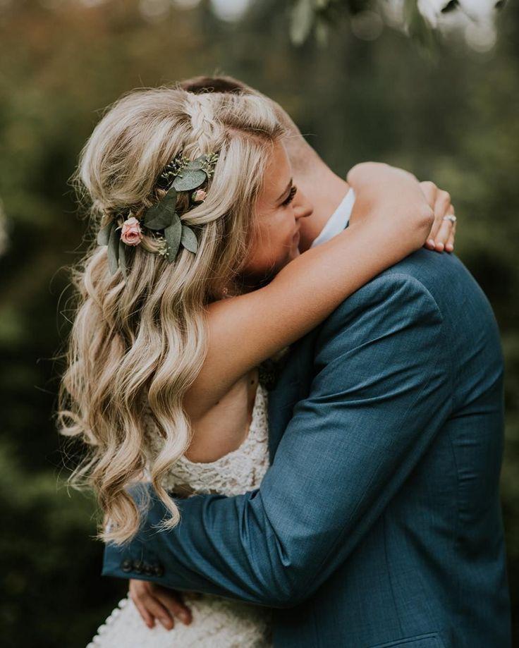 Die beliebteste Hochzeitsfrisur, die die Braut schöner machen wird: 45 + schöne Ideen