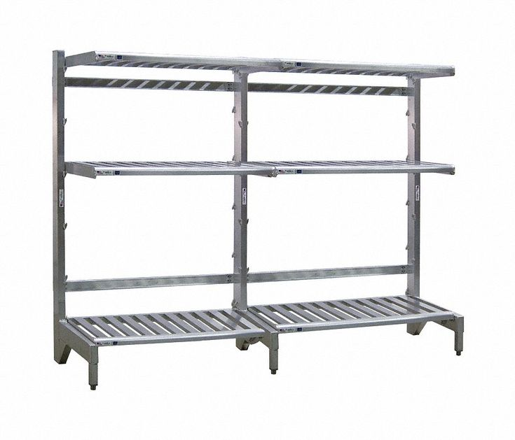 Cantilever Rack,Freestanding,6 ft. H