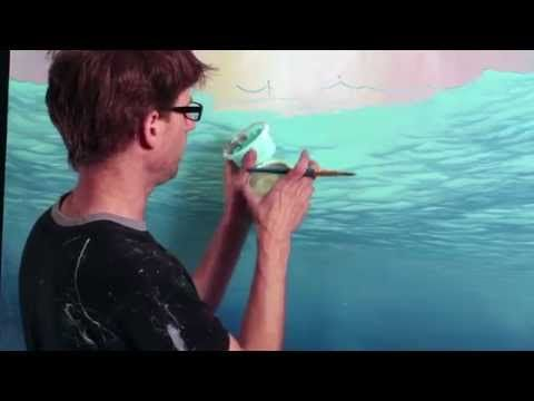44 best images about underwater acrylic on pinterest for Mural joe painting