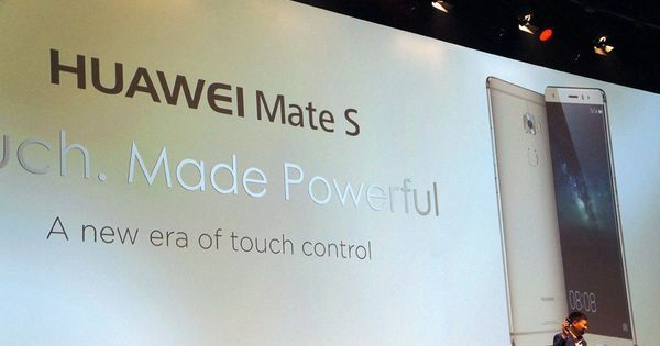 Today at its IFA 2015 press event, Huawei unveiled the Mate S, a follow-up to last year's fingerprint sensor-enabled Ascend Mate 7. The device, which has now sh...