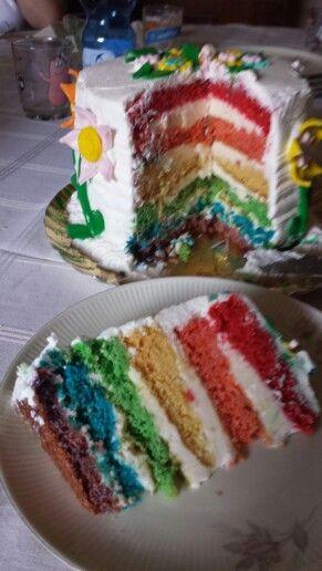 Raynbow cake