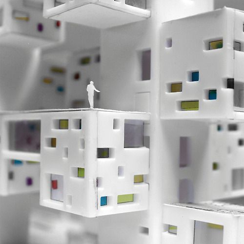 archimodels:  © cinthya jinesta - california mixed use...