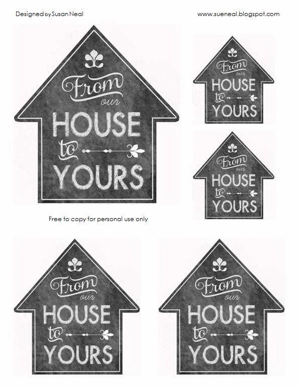 free printable tags for christmas gifts!  no colored printer necessary.  It makes it look like a chalkboard.  I'll be using these for sure this Christmas!