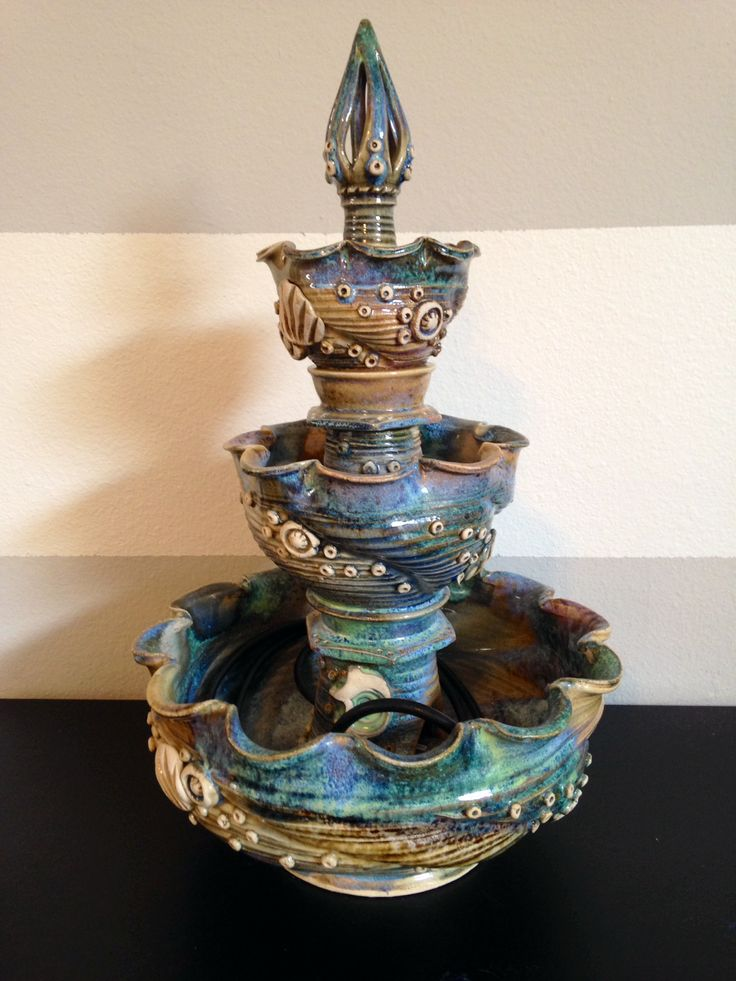 15 best Clay: Water Fountains images on Pinterest   Water ...