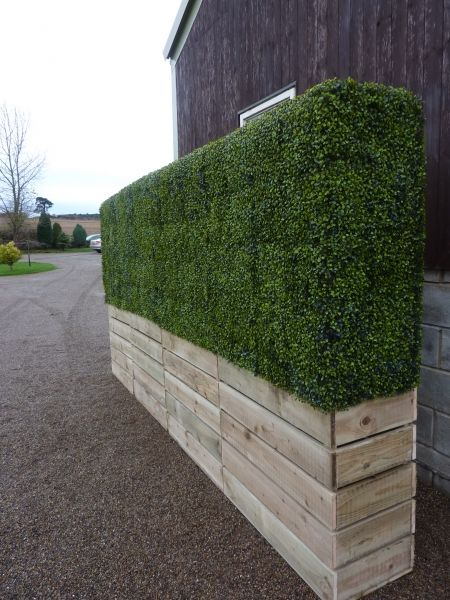 Deluxe Artificial Boxwood Panels ~ As Seen In Olympic Opening Ceremony |  Hedging | Artificial Plants