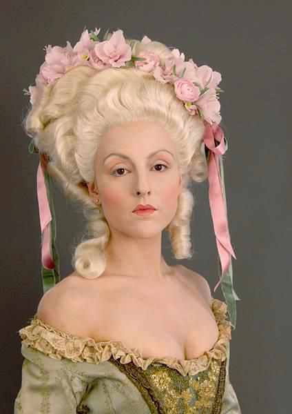Baroque Rococo Hair Styles Colonial Fashion