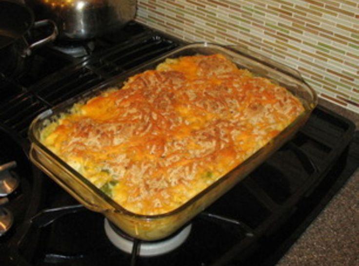 Chicken Spaghetti Casserole | Yummy Cassaroles | Pinterest