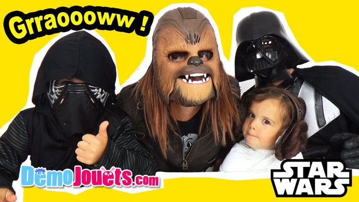 awesome Masque Chewbacca Electronique & Déguisements Star Wars  - Démo Jouets