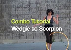 Hoop dance tutorial: wedgie to scorpion...  I've been working on this combo for a month or two, haven't gotten it yet.