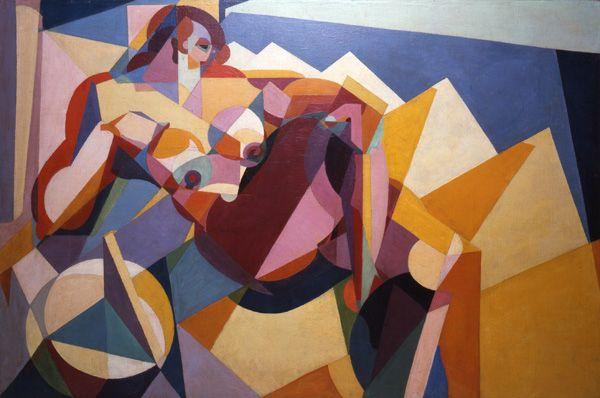 La geometria della voluttà, c 1923   Enrico Prampolini (1894 - 1956)   Futurismo 1909-2009 - Velocita'+Arte+Azione; Milano, Palazzo Reale